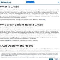 Casb Solutions
