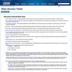 Data Access Tools