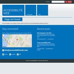 Tailles de police en pourcentage ou en em. Impact sur l'accessibilité et solution. - AccessiBlogue | AccessibilitéWeb
