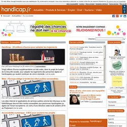 Accessibilité - Actualités - Handicap.fr