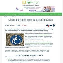 Accessibilité des lieux publics : ça avance ! - 23/01/17