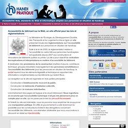 Un site pour l'accessibilité du bâtiment sur le Web