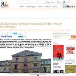 3e round pour améliorer l'accessibilité des livres en bibliothèque