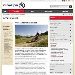 l'accessibilité aux personnes handicapées : loisirs, culture, tourisme