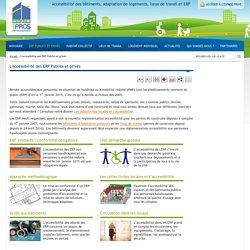 Accessibilité des ERP aux handicapés et PMR, mise en conformité 1er janvier 2015