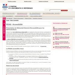 RGAA - Accessibilité | modernisation.gouv.fr