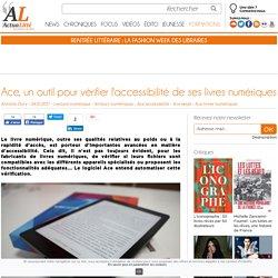 Ace, un outil pour vérifier l'accessibilité de ses livres numériques