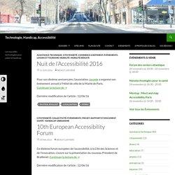 Les nouvelles technologies pour palier le handicap