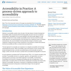 The Paciello Group – Your Accessibility Partner (WCAG 2.0/508 audits, VPAT, usability and accessible user experience)