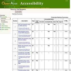 OpenAjax Accessibility: Web Content Accessibility Guidelines 2.0 Ruleset