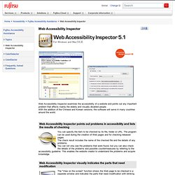 the problems of web accessibility A critical element to start your web accessibility process is cross-browser testing enough font for the text to be readable is critical to providing a satisfying web experience for any user with vision problems the text on a website should be resizable.