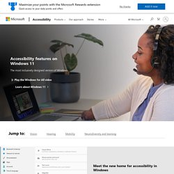 Accessibility Tools for Windows