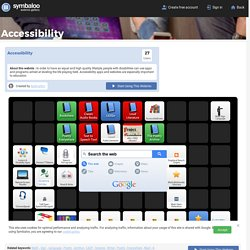 Accessibility- Symbaloo Gallery