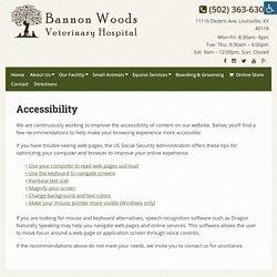 Bannon Woods Veterinary Hospital