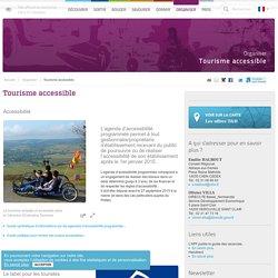 Tourisme accessible adapté aux personnes handicapées moteur dans le Calvados