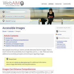 Accessible Images