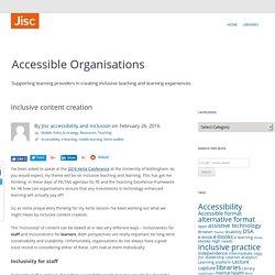 Inclusive content creation