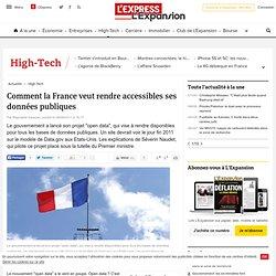 Comment la France veut rendre accessibles ses données publiques - LExpress.fr