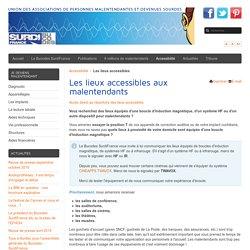 Les lieux accessibles - Bucodes SurdiFrance