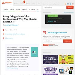Design Accessibly, See Differently: Color Contrast Tips And Tools
