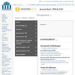 AccessiScol-Enseignants-PAP-Telecharger le modele de suivi du PAP — Wikiversité