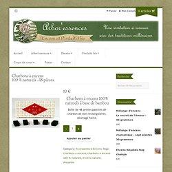 Charbons à encens 100 % naturels - Achat / Vente Accessoires à encens Charbons à encens 100 %naturels - Shoyeido - Arboressences.net