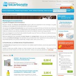 Sacs, recharges & accessoires : économisez en protégeant la nature avec Compagnie Bicarbonate