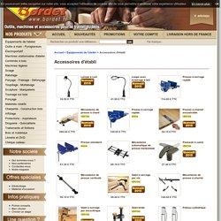 Accessoires d'établi pour le travail du bois, Équipements de l'atelier, Outillage et Accessoires