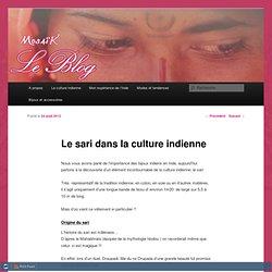 LE SARI DANS LA CULTURE INDIENNE - Mosaik boutique de bijouxMosaik boutique de bijoux