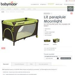 Lit parapluie Moonlight : Baby Moov - produits de puériculture