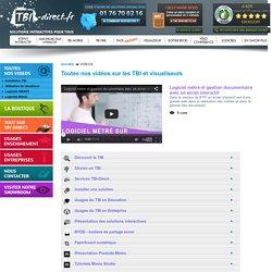 Acheter tableau blanc interactif (TBI), accessoires, visualiseur, achat sur Tbi direct