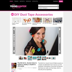 DIY Duct Tape Accessories
