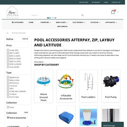 pools afterpay