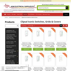 Clipsal Iconic Switches & Accessories
