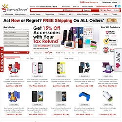 Electronic Accessories | Cell Phone Accessories, HDMI Cables, Wii Accessories, iPod® Accessories | EverydaySource.com®