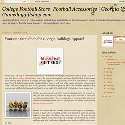 Gamedaygiftshop.com is renowned sports fan shop for the followers of sport teams