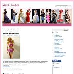 Barbie Accessories - Bags, Hats, Tights, Etc.