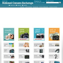 Digital Cameras accessories and photographic equipment - National Camera Exchange Stores Minnesota Minneapolis St-Paul MN