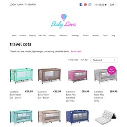 Baby Accessories - Baby Travel Cots & Playpens Ireland – Babylove.ie