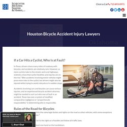 Houston Bicycle Accident Injury Lawyers