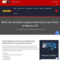 Car Accident Attorney Macon