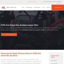 School Bus Accident Lawyer Columbus Ohio, COTA Lawyer Westerville