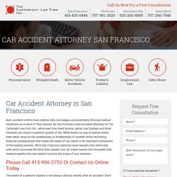 Car Accident Attorney in San Francisco