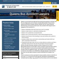 Queens Bus Accident Lawyers - Frekhtman & Associates