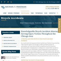 Lincolnshire Bicycle Accidents Lawyer
