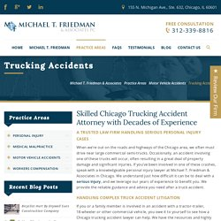 Joliet Trucking Accidents Lawyer