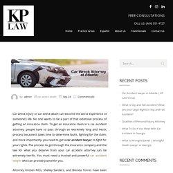 Car Accident Lawyer in Atlanta