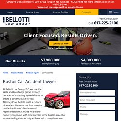 Car Accident Lawyer in Boston, MA