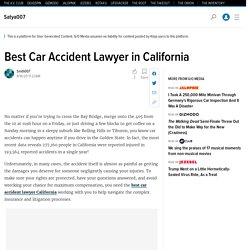 Best Car Accident Lawyer in California