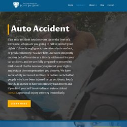 Auto Accident Lawyers in South Florida